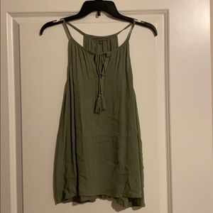 Tops - Olive green blouse